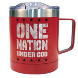 """Eisenhower Stainless Steel Mug With Handle"" Religious Mug from Kerusso-Mug-Kerusso-Thou Art Mine"