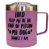 """My Dog Stainless Steel Mug With Handle"" Religious Mug from Kerusso-Mug-Kerusso-Thou Art Mine"