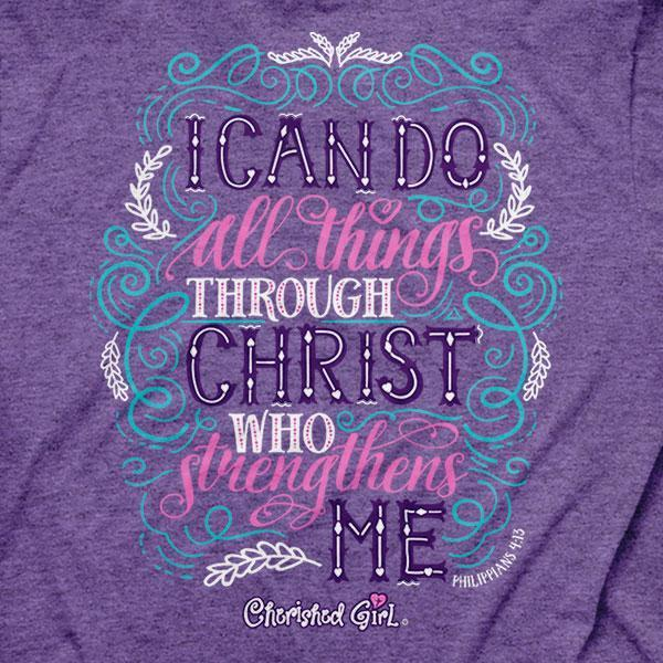 through-christ--religious-t-shirt-cherished-girl