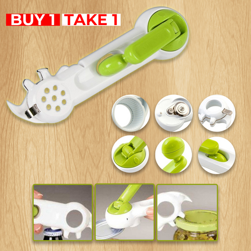 Buy 1 Take 1-6 in 1 Very Durable Hassle-Free User Friendly & Easy To Use Can Opener