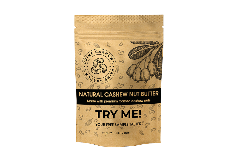 FREE Cashew Nut Butter Sample Taster