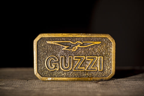 Moto Guzzi Large Belt Buckle