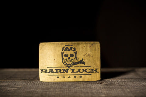 Barn Luck Belt Buckle
