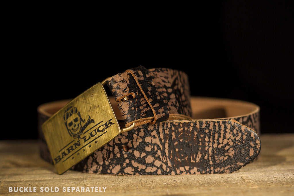Vintage Black & Brown Belt