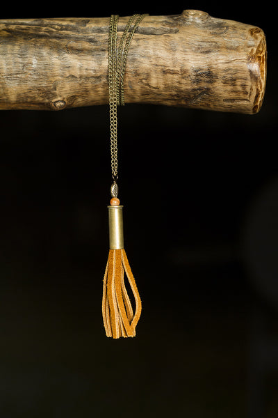 Single Shell Leather Necklace