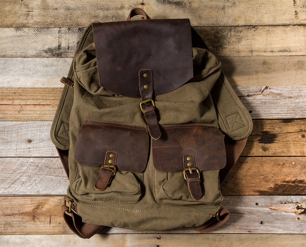 Rough War Lock Backpack