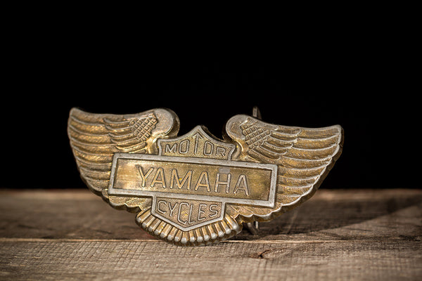 Winged Yamaha Belt Buckle
