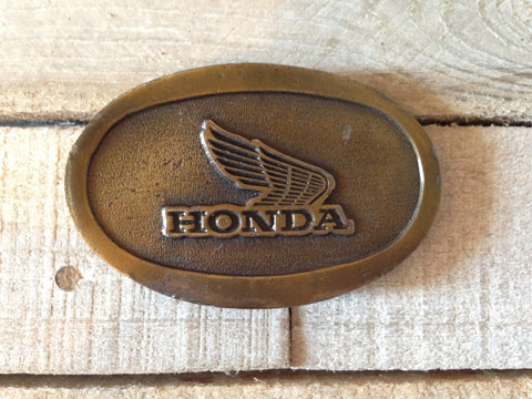 Winged Honda Belt Buckle