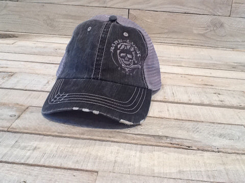 Distressed Trucker mesh hat