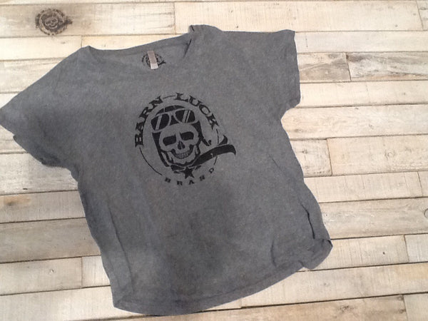 Barn Luck Distressed T