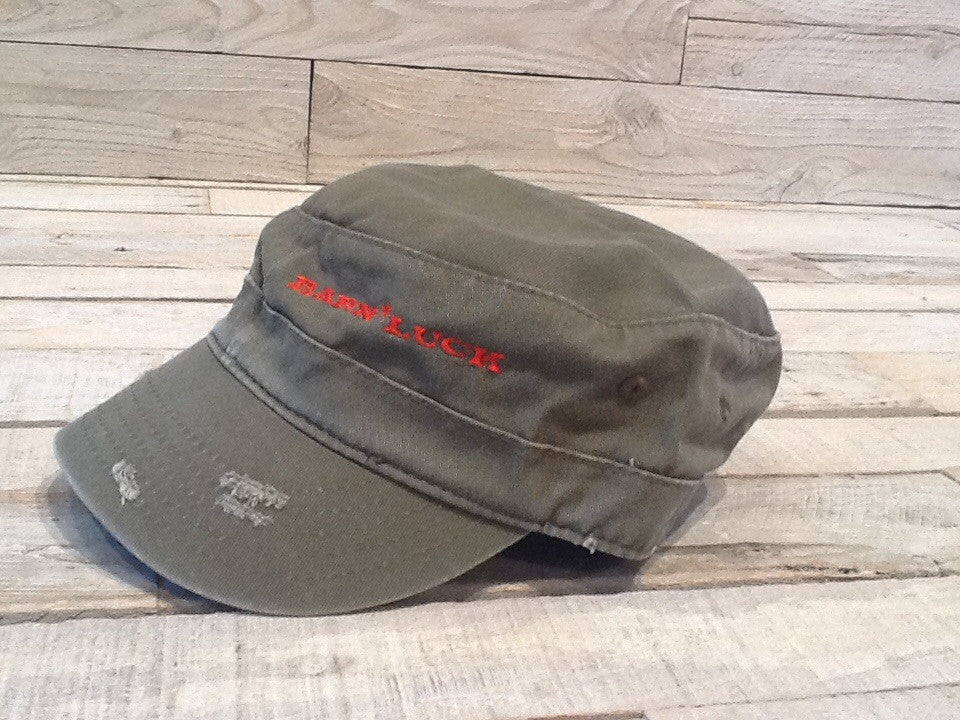 Distressed Hat - Woodland