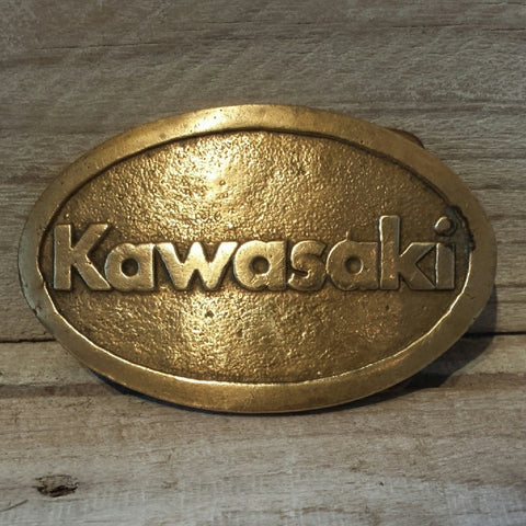 Kawasaki Belt Buckle