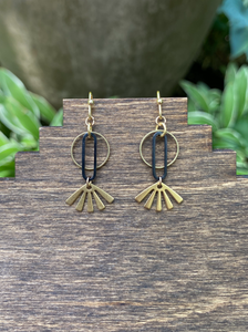 Rum & Coke Earrings
