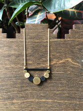 Load image into Gallery viewer, Brass Circles Necklace
