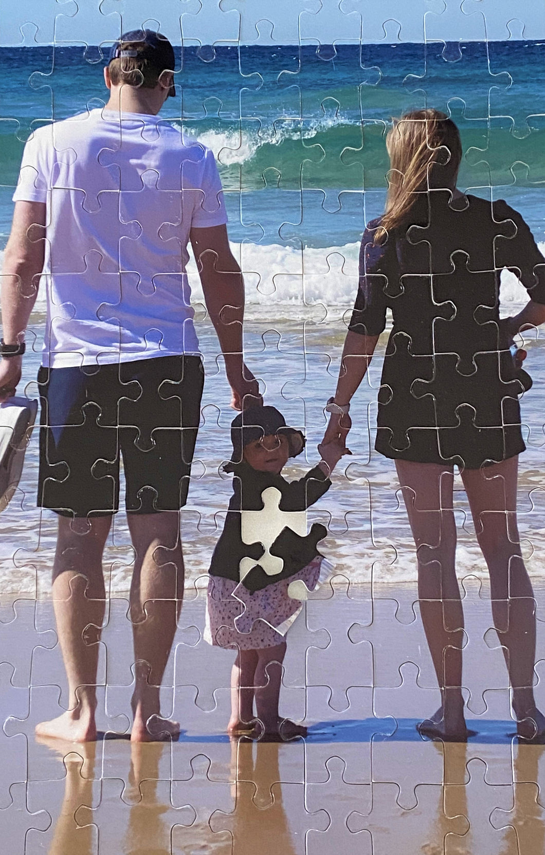 8.5x11 Custom Photo Puzzle - 48 pieces