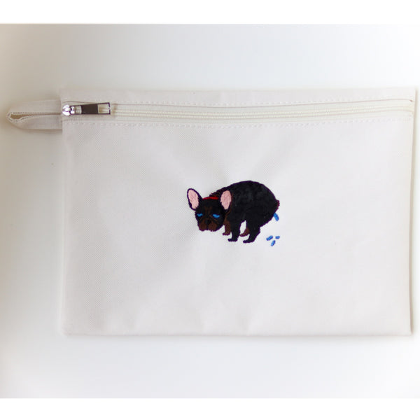 F/B POOPING POUCH【FRENCH BULLDOG LIFE × PEGION】