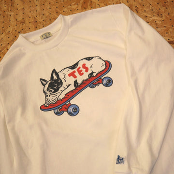 TES BUHIーFACEDOWN CUSTOM LONG SLEEVE T-SHIRT/カスタムオーダー