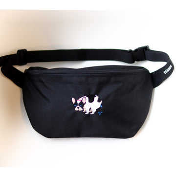 F/B POOPING BODY BAG【FRENCH BULLDOG LIFE × PEGION】