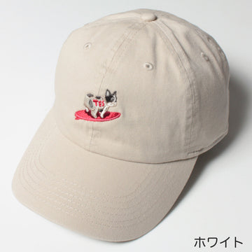 TURN BUHI EMB LOW CAP/ キャップ