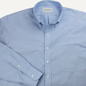 Blue Oxford Cloth Button-Down - Made-to-Order Dress Shirt