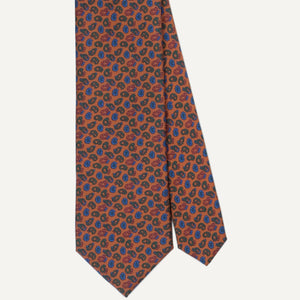 Gold Pines Ancient Madder Tie