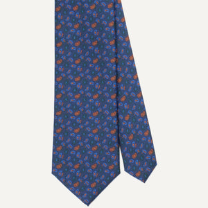 Navy Pines Ancient Madder Tie