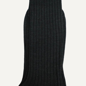 Charcoal Mid-Calf Sock