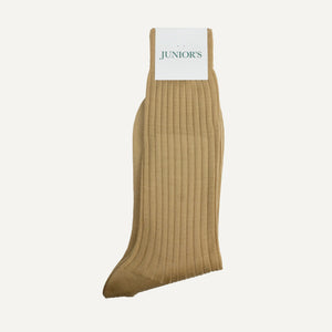 Tan Mid-Calf Sock
