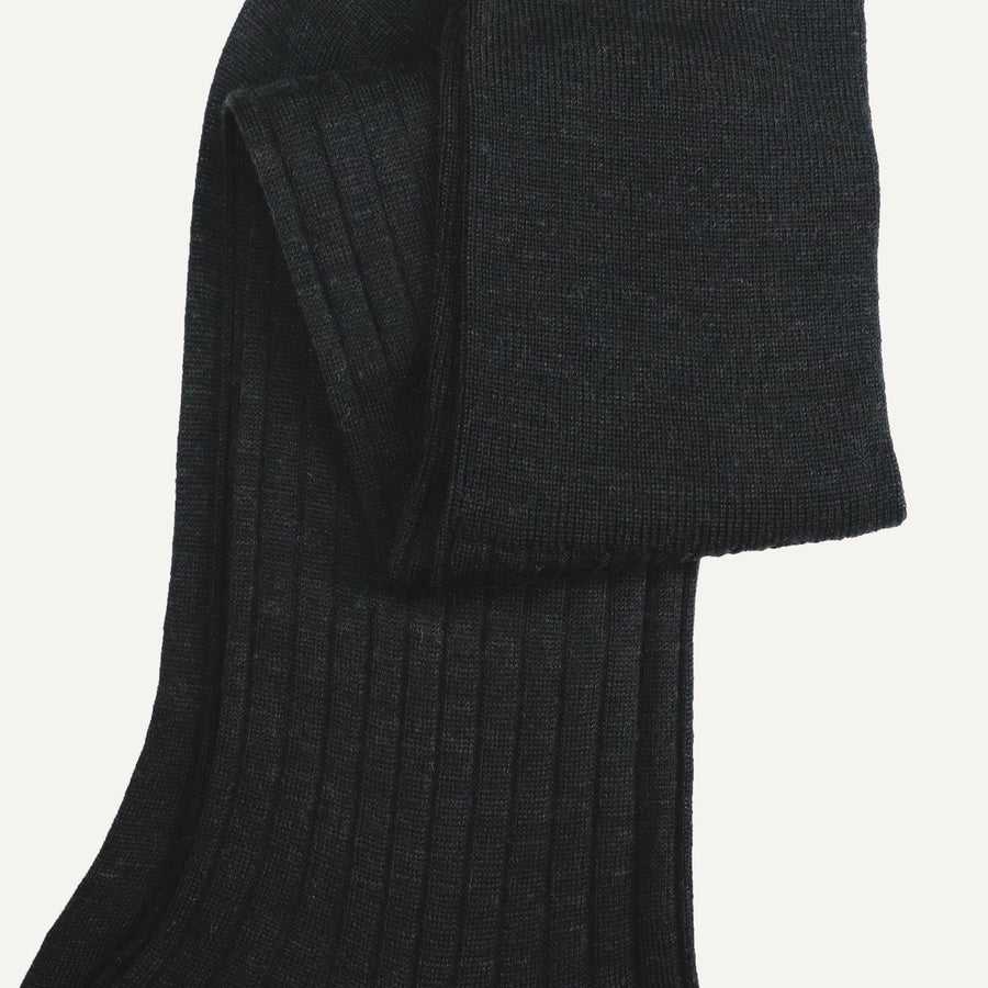Charcoal Over-the-Calf Sock