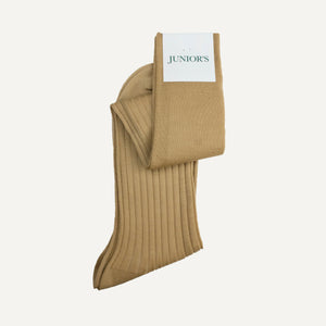 Tan Over-the-Calf Sock