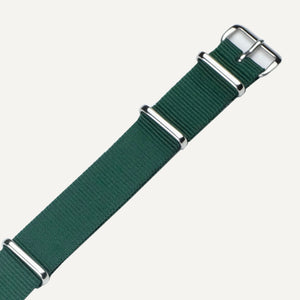 Racing Green NATO Watch Strap - 18mm