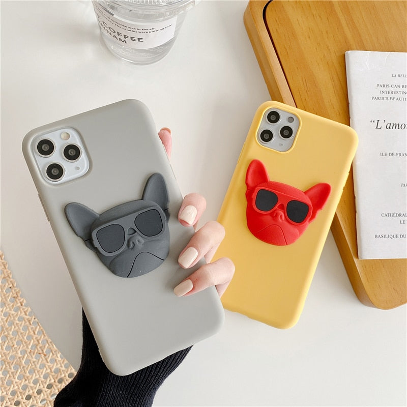 Stylish Frenchie Smartphone Case