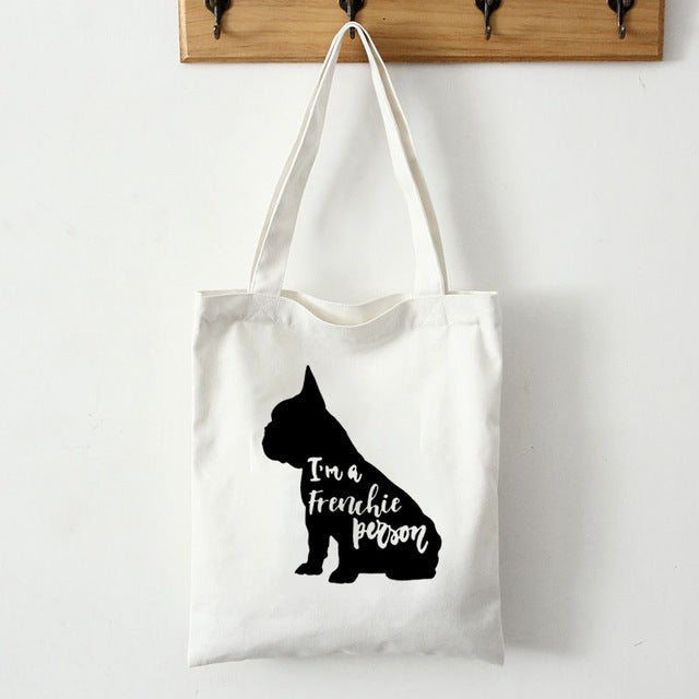 Frenchie Themed Tote Bag