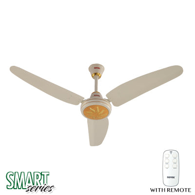 Royal Smart Regency ACDC Ceiling Fans - CRYSTAL