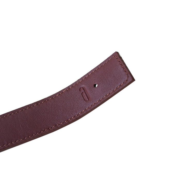 Reverso Belt (Black/Bordeaux)