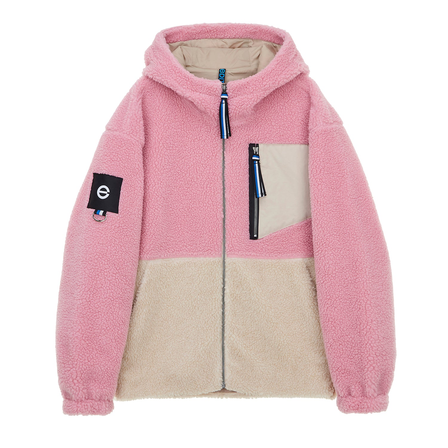 Edit+ Multi Color Fleece Jacket