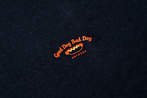 GOOD DOG BAD DOG LOGO TEE | BLACK