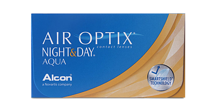 Air Optix Aqua Night & Day (3 ks) Alcon