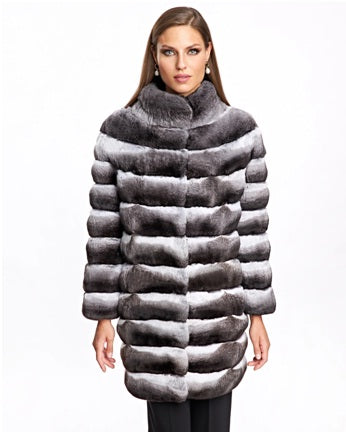 The Most Luxurious Chinchilla Jacket Available Online