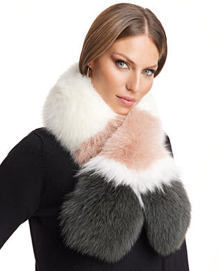 Look Equally Classic and Stylish with Blue Fox Fur