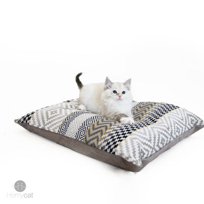 Coussin XL - Couchage chat stylé
