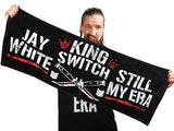"Jay White ""KING SWITCH"" Sports Towel [Pre-Order]"