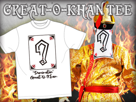 Great O-Khan T-Shirt (White)