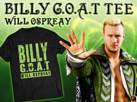 Will Ospreay - Billy G.O.A.T. T-Shirt