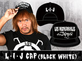 LIJ Cap (Black & White)