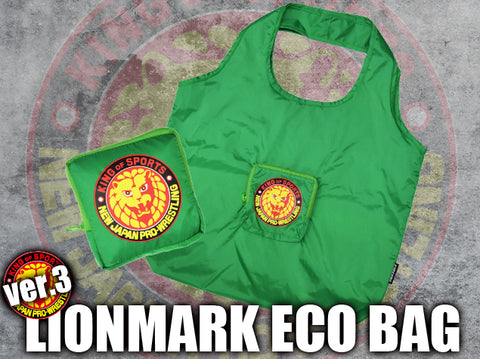 Lion Mark Eco Bag (Green)