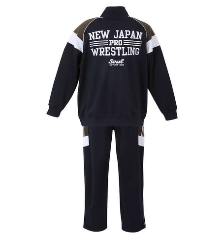 """BIG Size"" SOUL SPORTS x New Japan Pro-Wrestling Truck Suit SET UP [Pre-Order]"