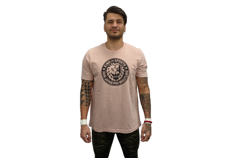 Choose your own color Lion Mark T-Shirt (Black Logo)