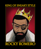Rocky Romero King of Sneaky Style T-shirt