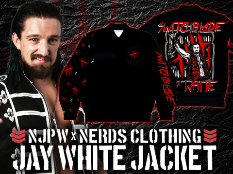 NJPW x NERDS Clothing Jay White Jacket